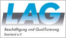 LAG – Beschäftigung & Qualifizierung Saarland e.V. Logo